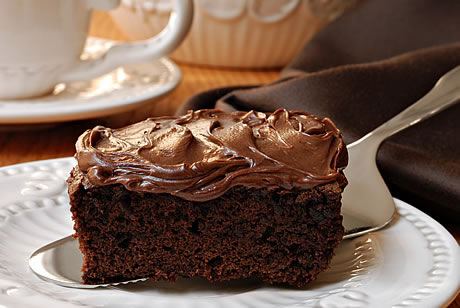 Buttermilk Chocolate Cake With Fudge Icing Island Farms