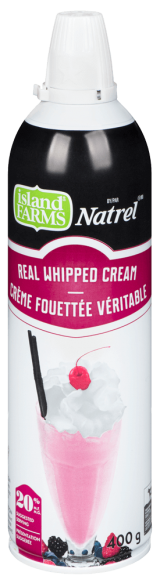 Island Farms Aerosol Whipped Cream