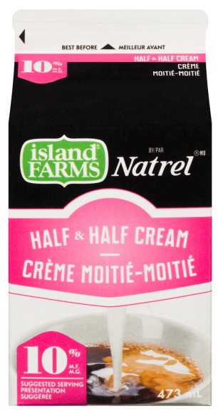 Island Farms by Natrel 10% Half & Half Cream