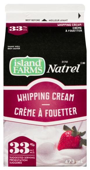 Island Farms by Natrel 33% Whipping Cream
