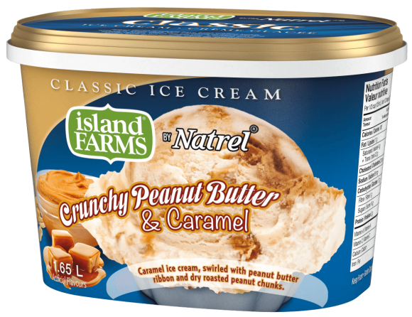 Island Farms Classic Peanut Butter and Caramel Ice Cream