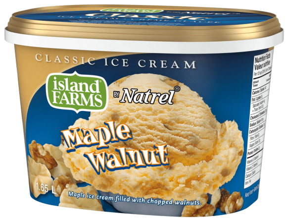 Island Farms Classic Maple Walnut Ice Cream