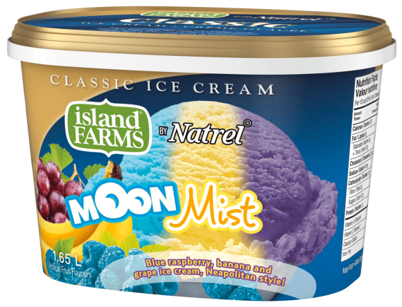 Island Farms Classic Moon Mist Ice Cream