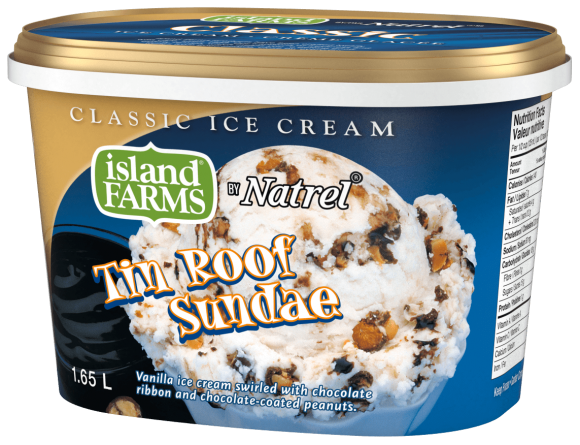Island Farms Classic Tin Roof Sundae Ice Cream