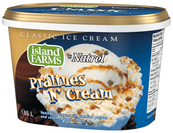 Island Farms Classic Pralines N Cream Ice Cream