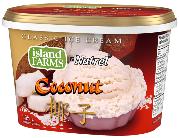 Island Farms Classic Coconut Ice Cream