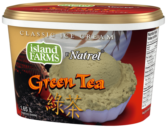 Island Farms Classic Green Tea Ice Cream