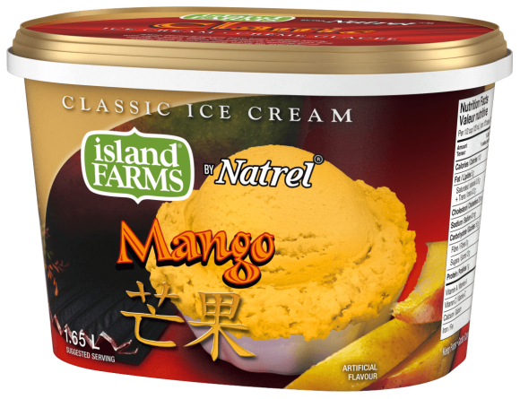 Island Farms Classic Mango Ice Cream