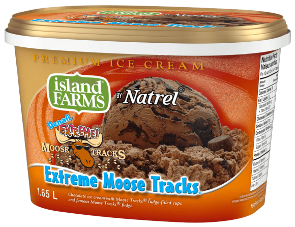 Island Farms Denali Extreme Moose Tracks Ice Cream