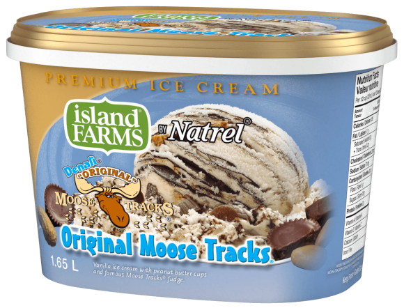 Island Farms Denali Original Moose Tracks Ice Cream