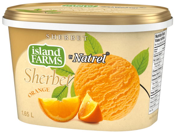 Island Farms Orange Sherbet