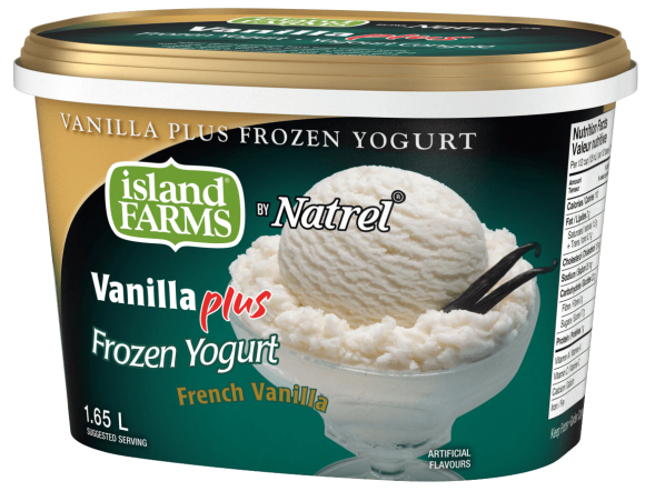 Island Farms Vanilla Plus French Vanilla Frozen Yogurt