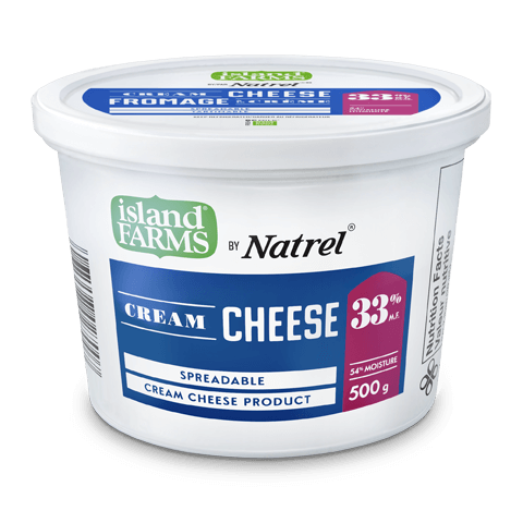 Island Farms by Natrel 33% Spreadable Regular Cream Cheese Product