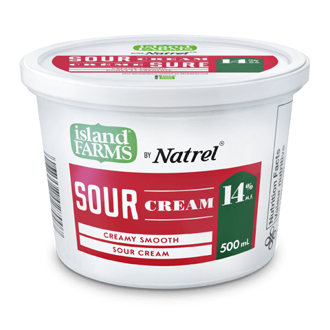 Island Farms 14% Regular Sour Cream