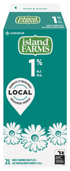 Island Farms 1% Partly Skimmed Milk
