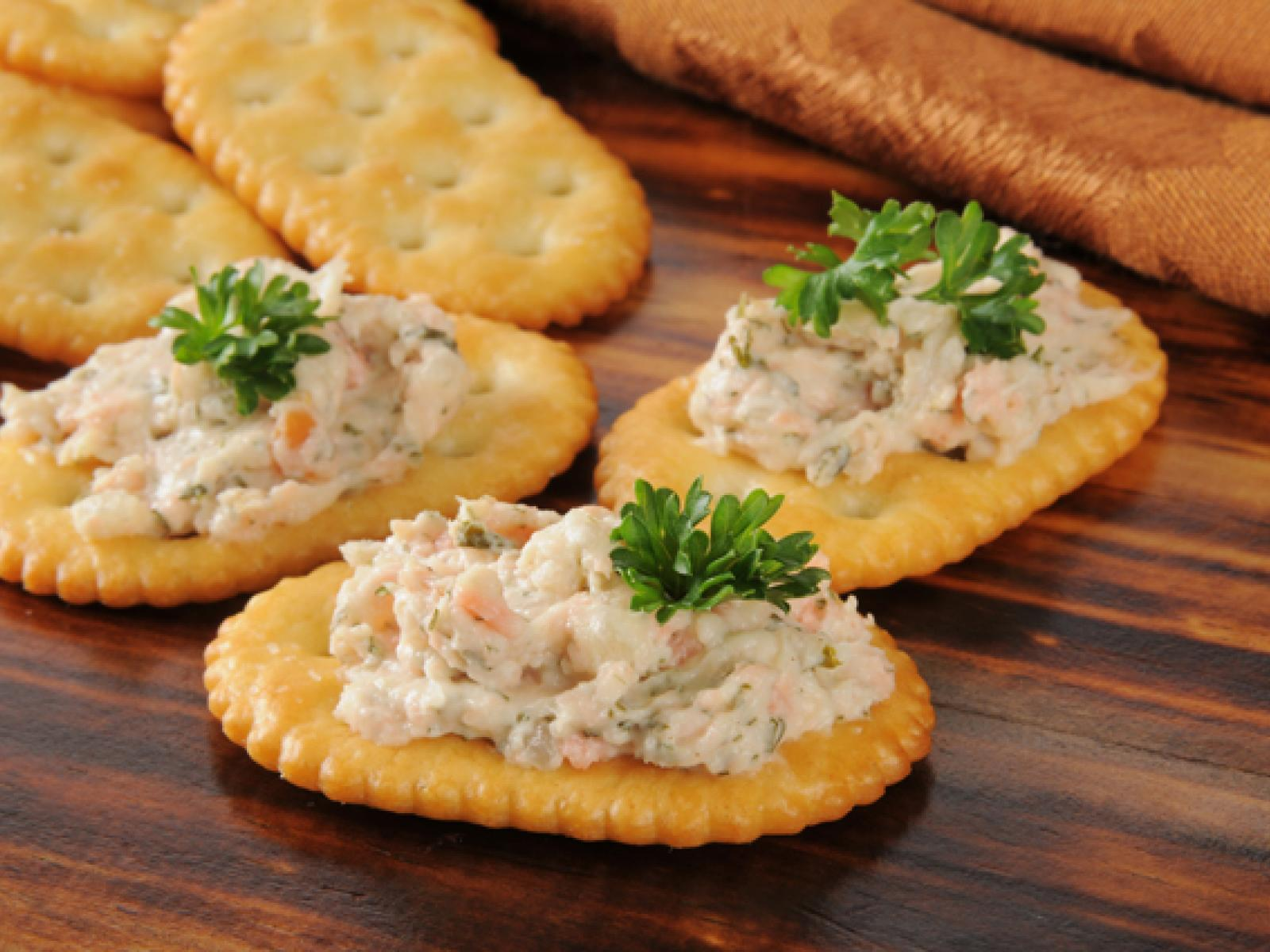 Double Salmon Dip recipe