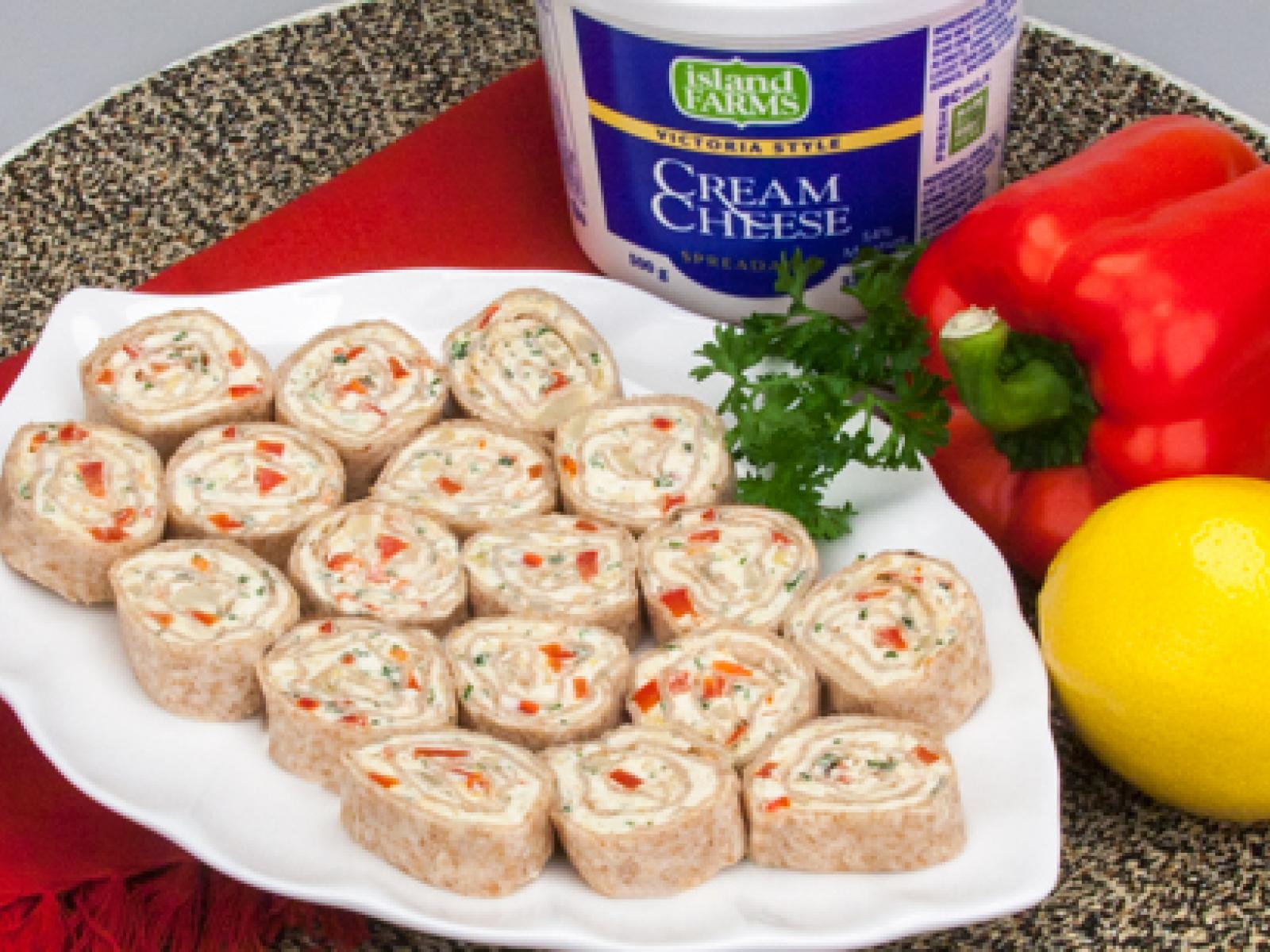 Cream-Cheesy Roll-ups recipe