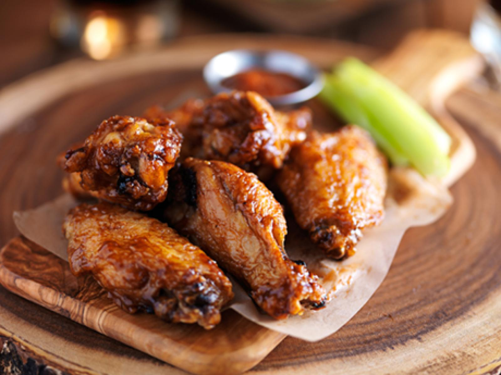 Barbecued Chicken Wings Recipe