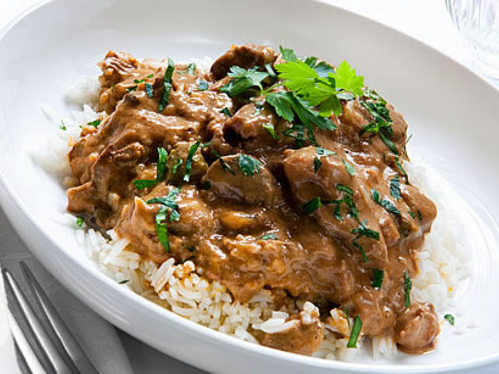 Buttermilk Beef Stroganoff Recipe