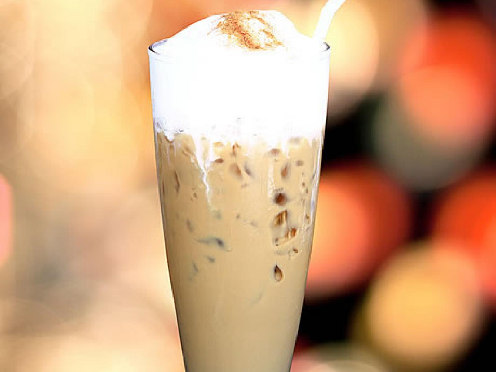 Flavoured Iced Café Latté recipe